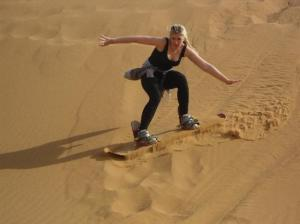 Sandboarding Merzouga Tour Packages